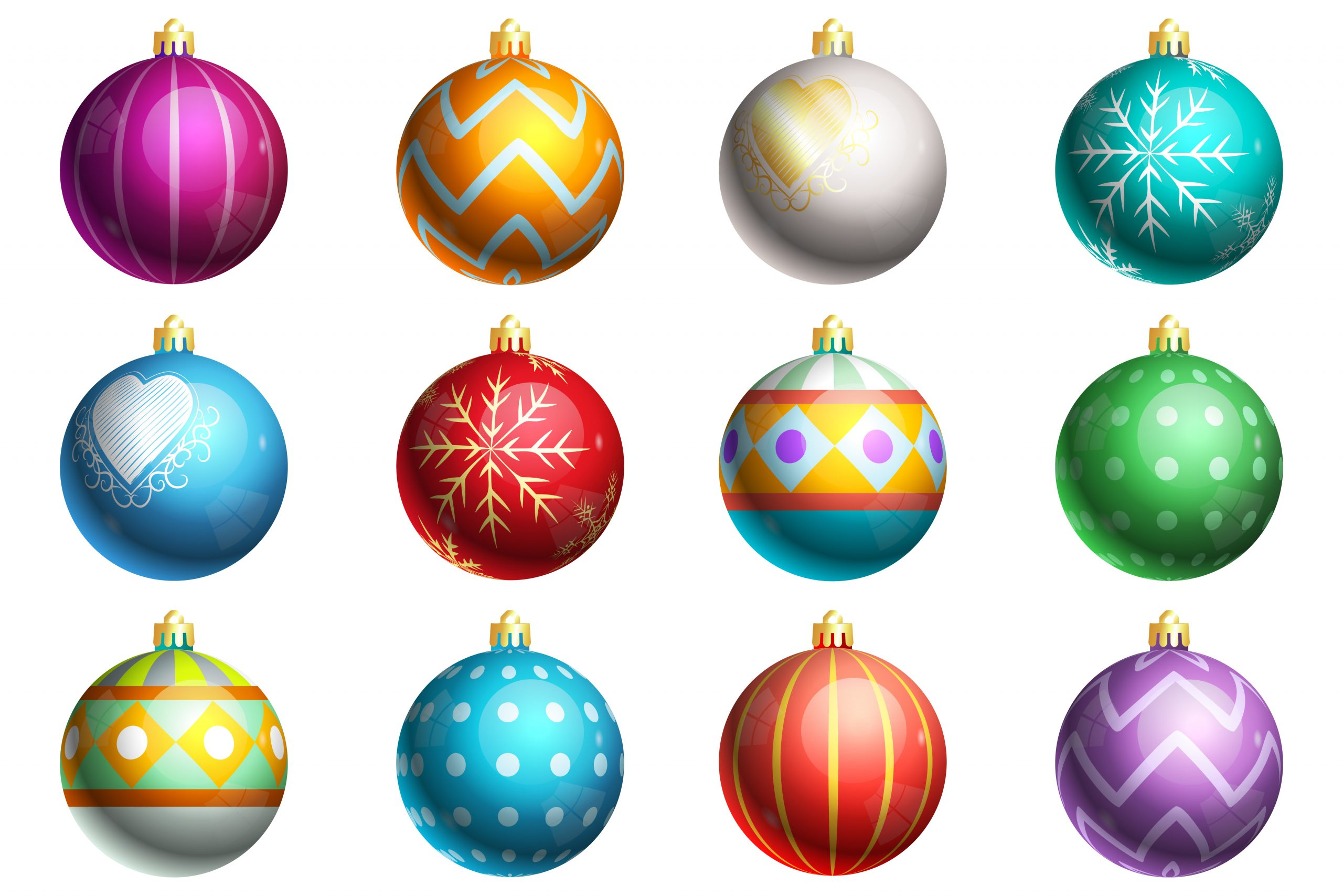 How to paint a Christmas glass ornament